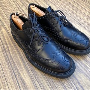 Prada Derby Wingtip Oxfords Size 10